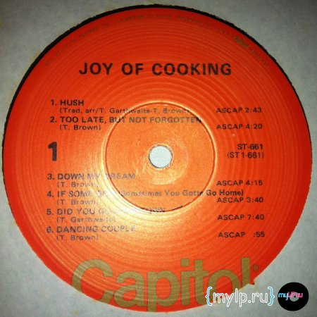 Joy of Cooking - Capitol USA ST-661